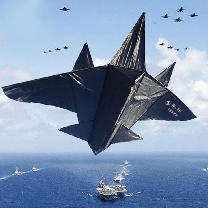 大型立体歼十五战斗机风筝