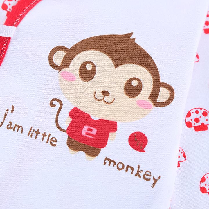 卡通小猴子春夏纯棉新生儿礼盒