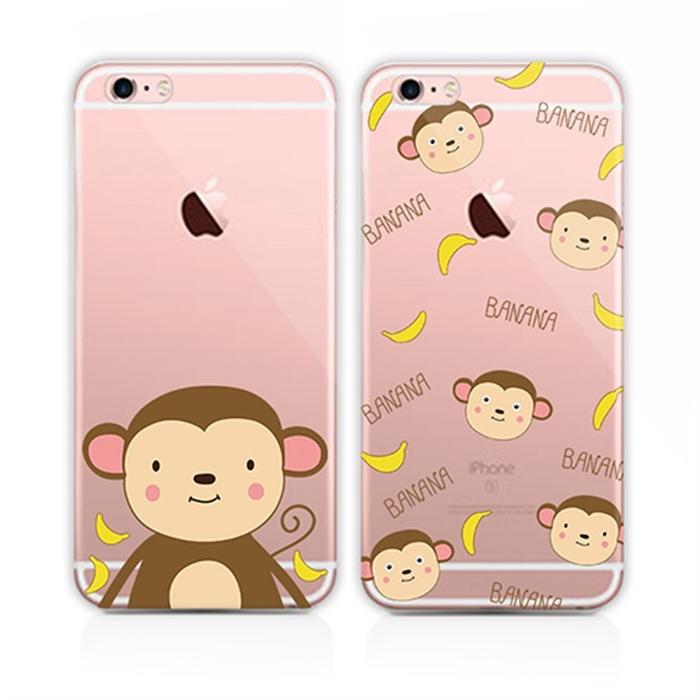 香蕉猴子iphone6s手机壳