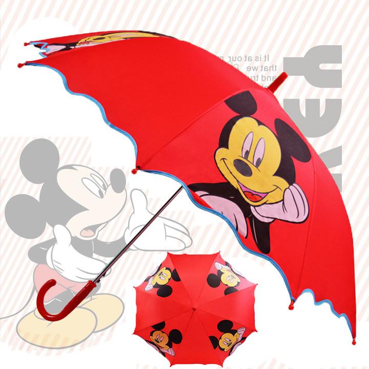 可爱卡通儿童长柄雨伞