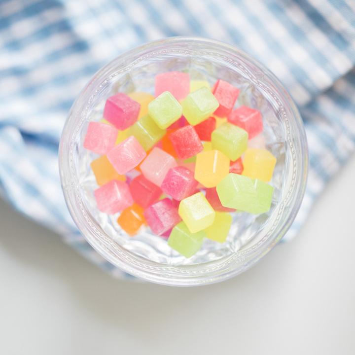 布尔本方块水果糖112g