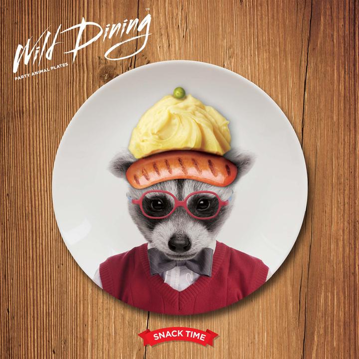 英国mustard diy动物盘子点心水果盘
