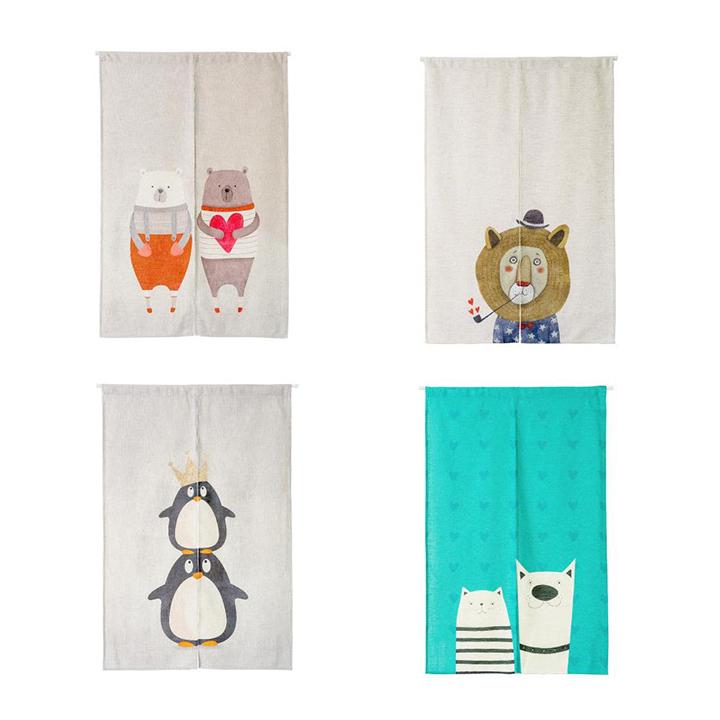 充满北欧童话风格的图案为你的房间带来一丝童趣,呆萌的小动物只要看