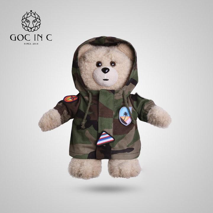 GOC IN C迷彩熊智能安全防爆充电热水袋电暖暖手宝